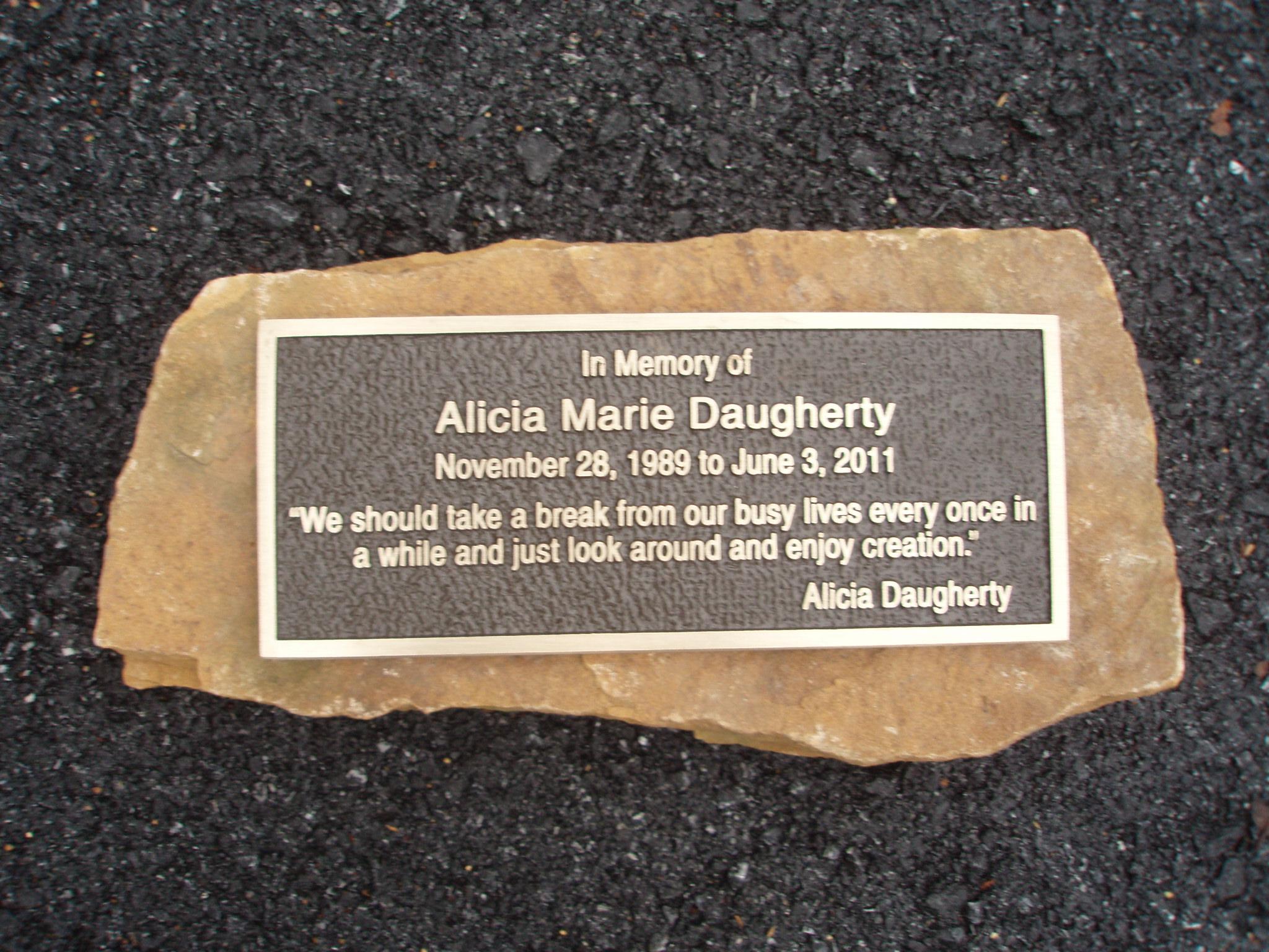 March 24 2012 Memorial Dedication At Pinchot Park 171 Alicia